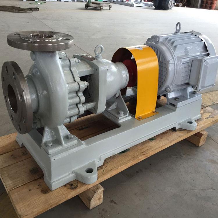 IH32-20-200耐腐蚀离心泵 304不锈钢卧式化工泵