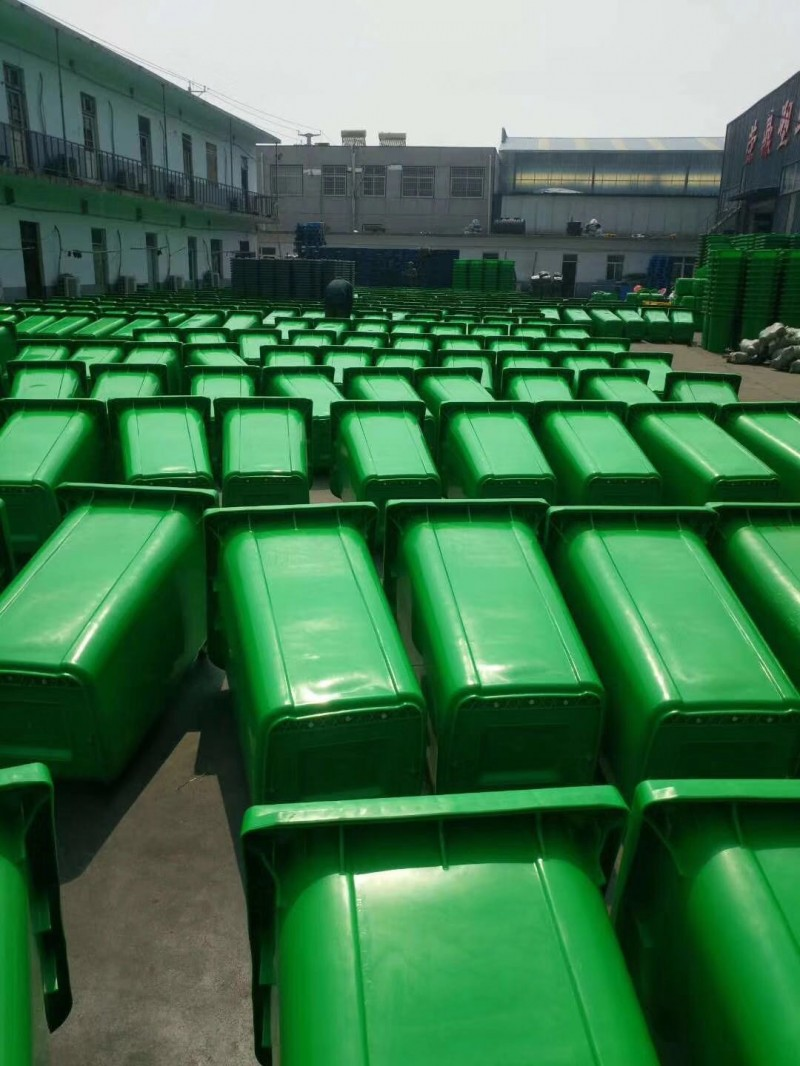环卫挂车垃圾桶,金发塑料垃圾桶定制,厂家批发直销