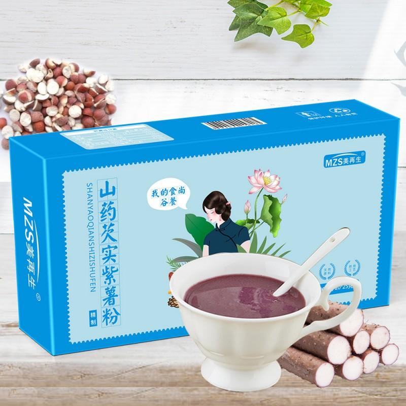山药芡实紫薯代餐粉-西安固体饮料代加工合作