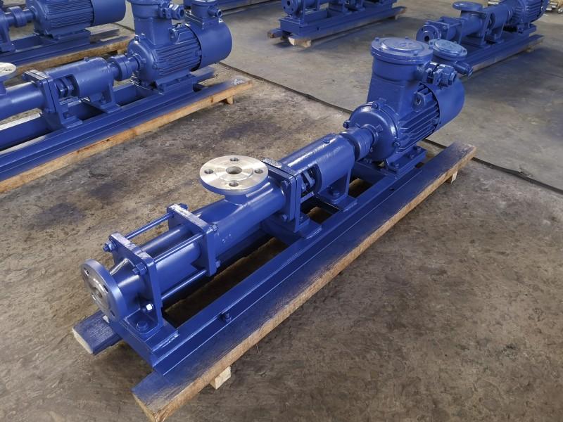 污水螺杆泵 小型螺杆泵 螺杆泵价格 螺杆泵型号 品能泵业