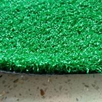 10mm高PE材质,军绿色卷曲草