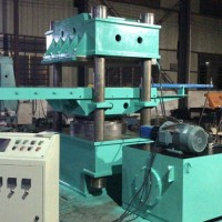 600T单层自动进出模平板硫化机