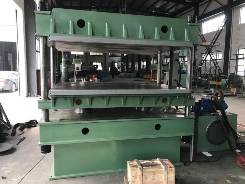 D2000x1500X1-100T小吨位大台面平板硫化机