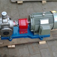 YCB不锈钢圆弧泵结构特点