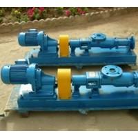 G型单螺杆泵可输送一切流动介质甚至非流动物料