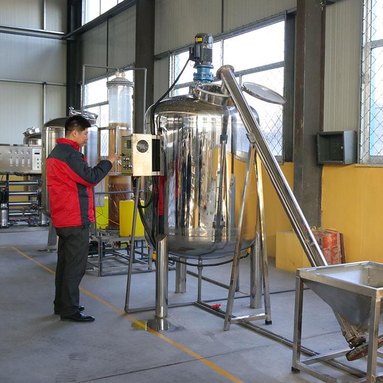 玻璃水配方分析 新品上市玻璃水设备 汽车玻璃水生产设备厂家