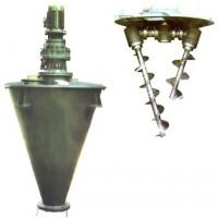 SZH系列悬臂式非对称双螺锥形混合机