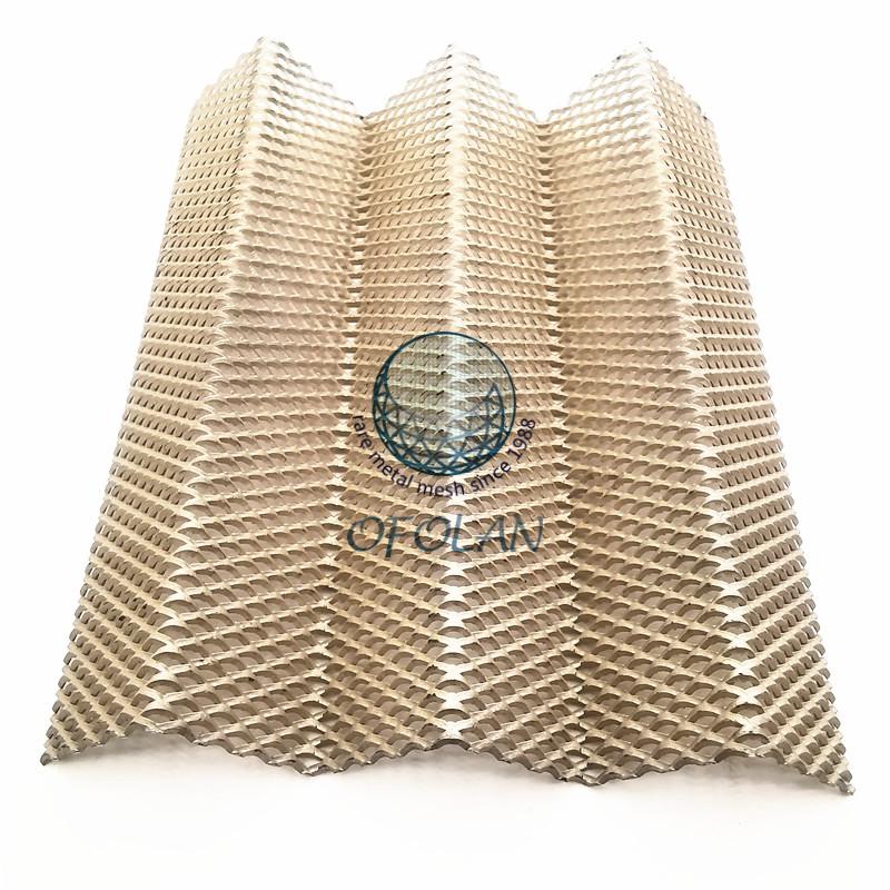 稀贵金属菱形拉伸网