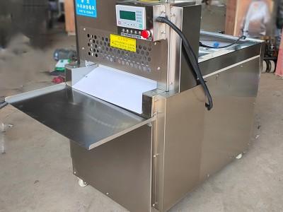 数控四卷切卷机 羊肉切片机 智能数控切肉机 高效率安全操作