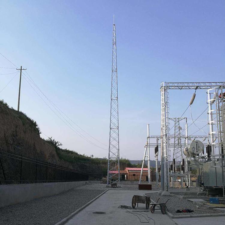 防雷铁塔 楼顶装饰避雷塔 避雷铁塔 结构安全可靠 源头厂家