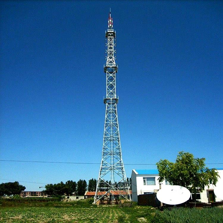 广播电视铁塔 安装简便 经济适用 支持信号发射 观光电视塔