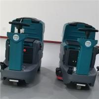多功能驾驶式洗地车 双刷清洗车 刷地吸干