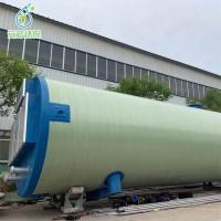 玻璃钢一体化泵站 智能污水预制提升泵站 一体化雨水提升泵站