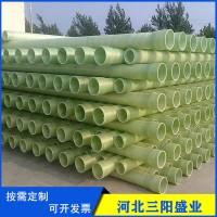 玻璃钢夹砂管道 玻璃钢电缆保护管 市政用玻璃钢管道