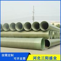 玻璃钢缠绕管道 输水玻璃钢管道 地埋式管道 型号规格齐全