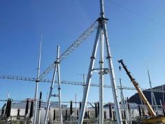 电力架构是变电所、变电站等室外导线、设备的主要支持结构的统称