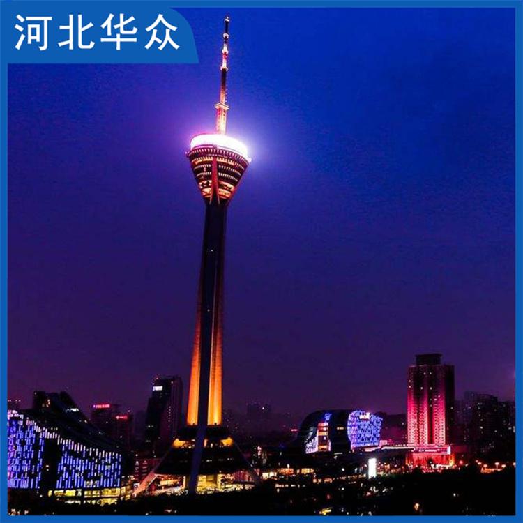 电视塔 广电塔 广播电视塔 造型美观 整塔稳定性好