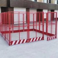 塔吊围栏-塔吊防护围栏-工地定型化塔吊围栏-盛宾丝网
