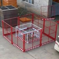 塔吊防护网-塔吊防护棚围栏网-设备隔离防护栏-盛宾丝网