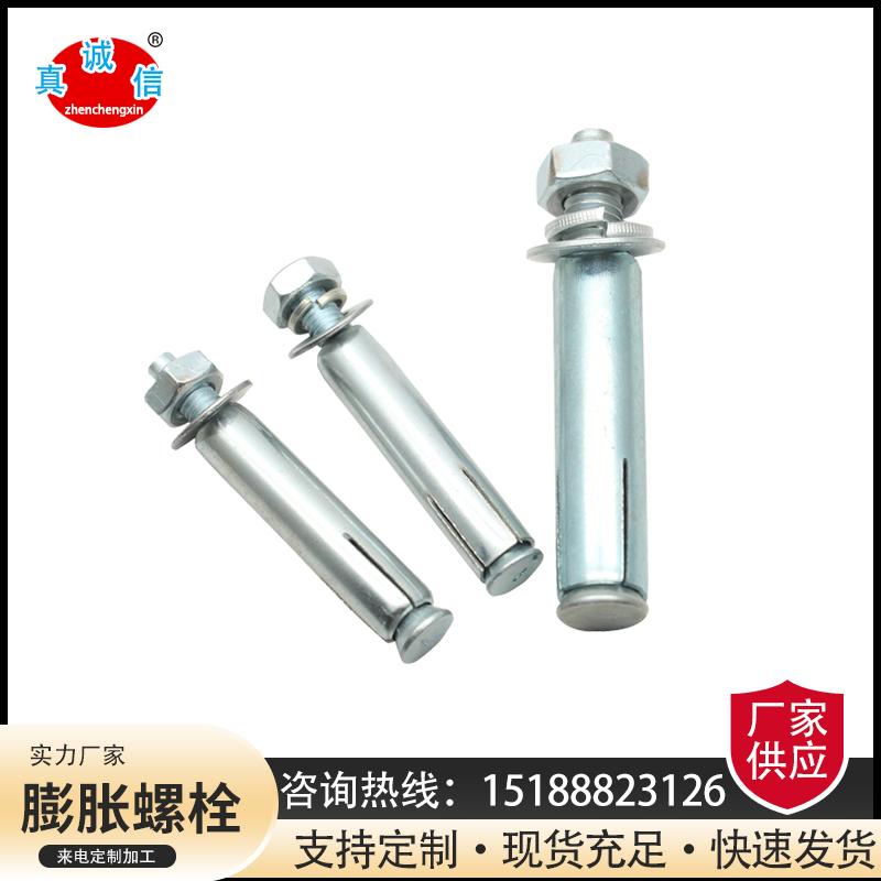 膨胀螺栓M6M8M10M12M14M16 镀锌膨胀螺栓定制