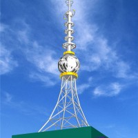 钢结构楼顶装饰塔