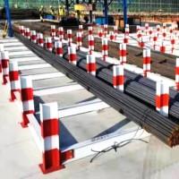 钢筋堆料场-工地钢筋堆放支架-工字钢焊钢筋堆放-盛宾丝网