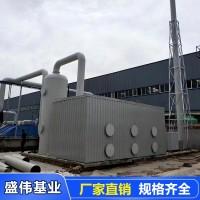 玻璃钢除臭塔-生物除臭净化器-废气处理过滤池-盛伟基业