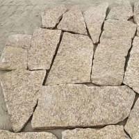 碎拼石 碎拼石厂家 芝麻黄碎拼石 片石垒墙石 厂家直销