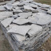 青灰色垒墙石 景区挡土墙石 复古毛石砌墙块石 厂家直销