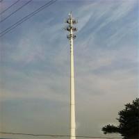 单管通信塔 通讯铁塔 通讯塔生产厂家