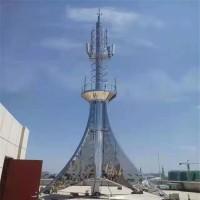 工艺塔 装饰通讯塔 泰翔钢结构 厂家制作 大量从优