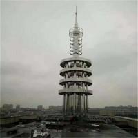 不锈钢装饰塔 工艺塔 楼顶装饰塔 泰翔钢结构 制定销售
