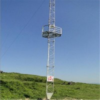 近海气象塔 测风塔 泰翔制作销售 现货供应 厂家制作