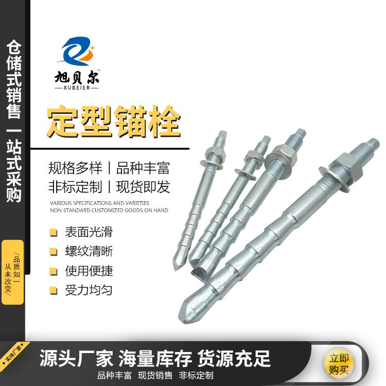 高强度定型锚栓建筑倒锥形定型锚栓柱锥式定型化学锚栓厂家定制
