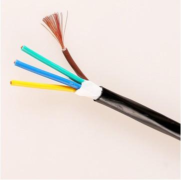 无氧铜RVV2芯3芯4芯05 1 1.5 2.5平方监控电源线控制线电线现货