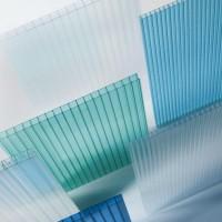 定制批发双层隔热阳光板防紫外线温室棚聚碳酸酯板阳光板加工