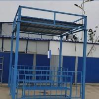 工地茶水亭吸烟处 建筑工地吸烟室茶水亭 组装式茶水亭生产厂家