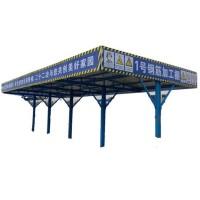组装式钢筋加工棚厂家 双排立柱钢筋加工棚 钢筋棚木工棚厂家