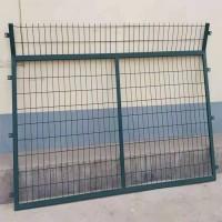 铁路框架护栏 浸塑框架护栏网 框架铁路护栏网