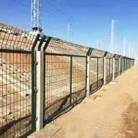 框架护栏网 铁路铁丝防护 边框围栏网