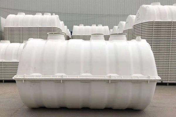 SMC三格式隔油池污水处理设备家用小型粪池
