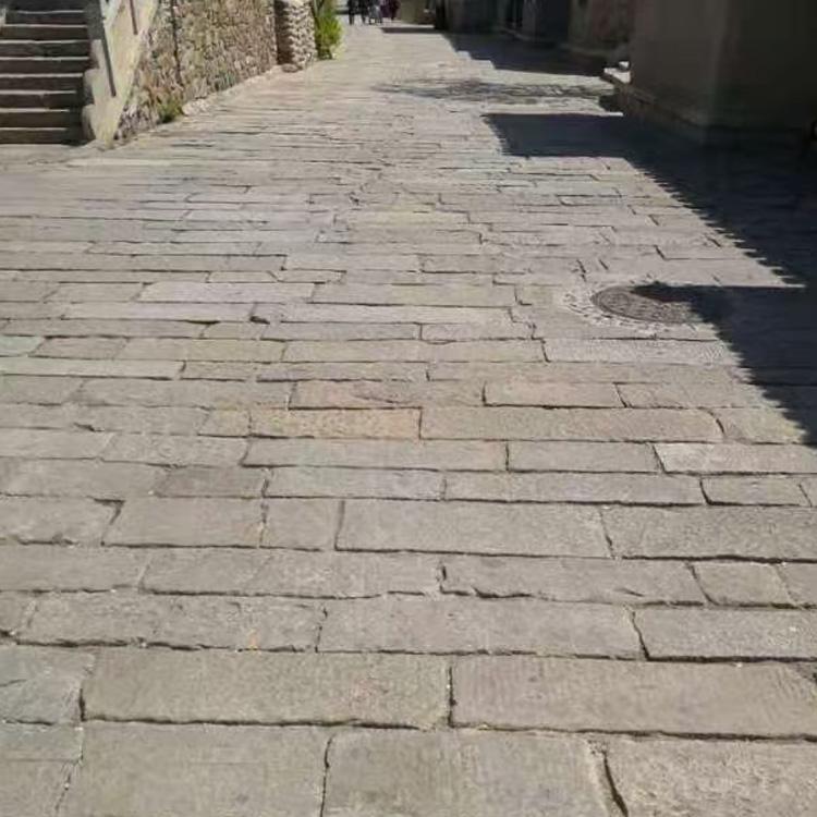 鼎岩石材 花岗岩老石板 户外庭院老石板 园林青石板价格
