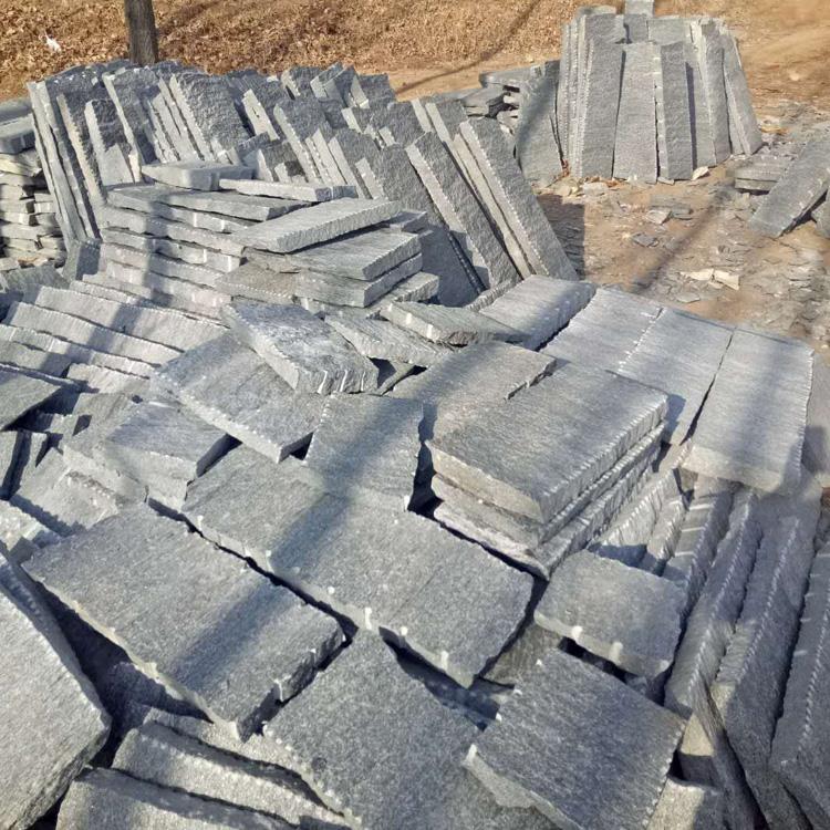 鼎岩石材 铺路老石板 公园古建老石板 庭院铺路石板