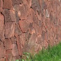 鼎岩石材 园林铺地火山岩片石 外墙装饰火山岩