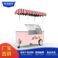 冰激凌车种类 样式 美食车小吃车流动餐车快餐车生产厂家佳美
