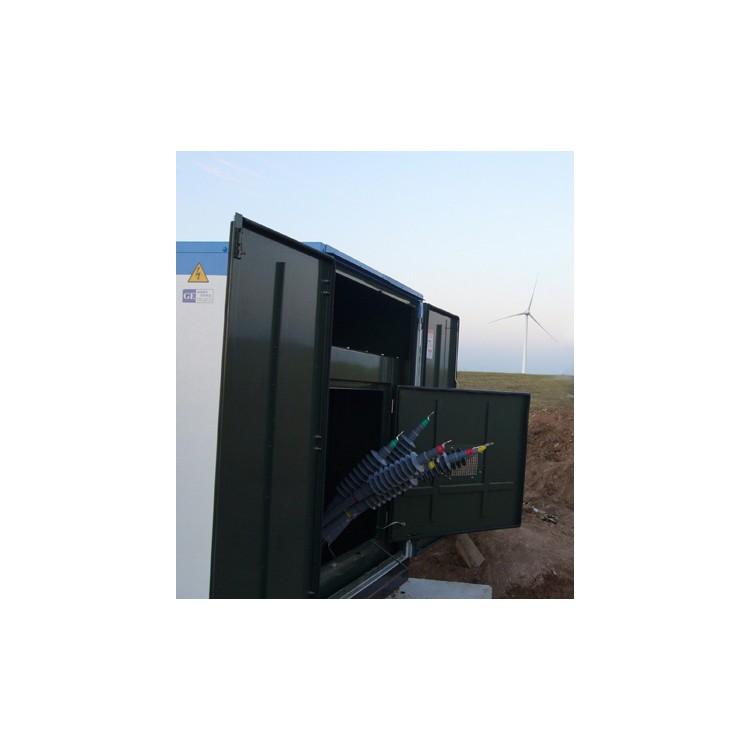 35KV冷缩电缆终端和中间连接安装
