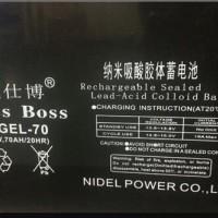 WESSBOSS威仕博蓄电池6-GEL-70现货价格