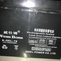 威仕博纳米吸酸胶体蓄电池6-GEL-70参数价格